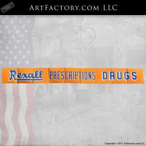 Rexall Prescription Drugs sign