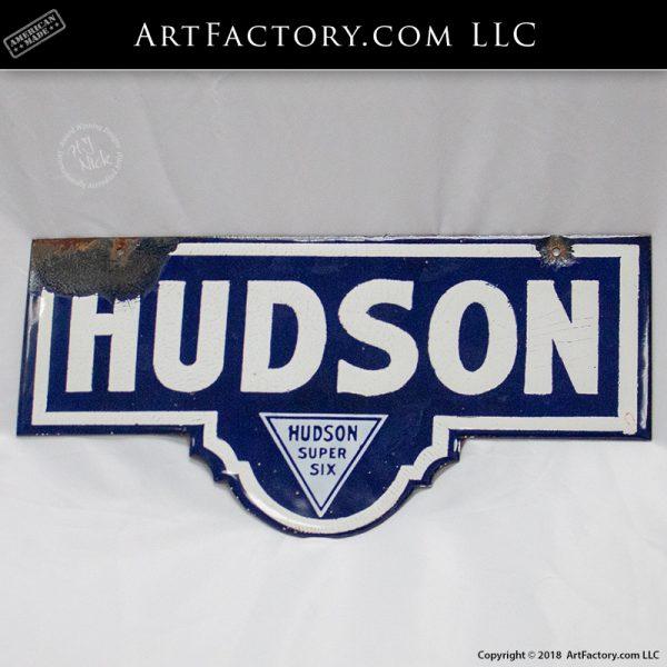 Vintage Hudson Super Six Sign