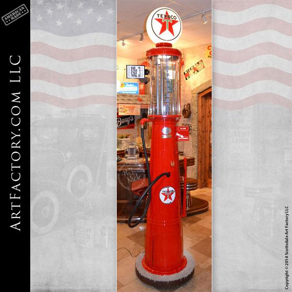 Gilbarco vintage visible gas pump