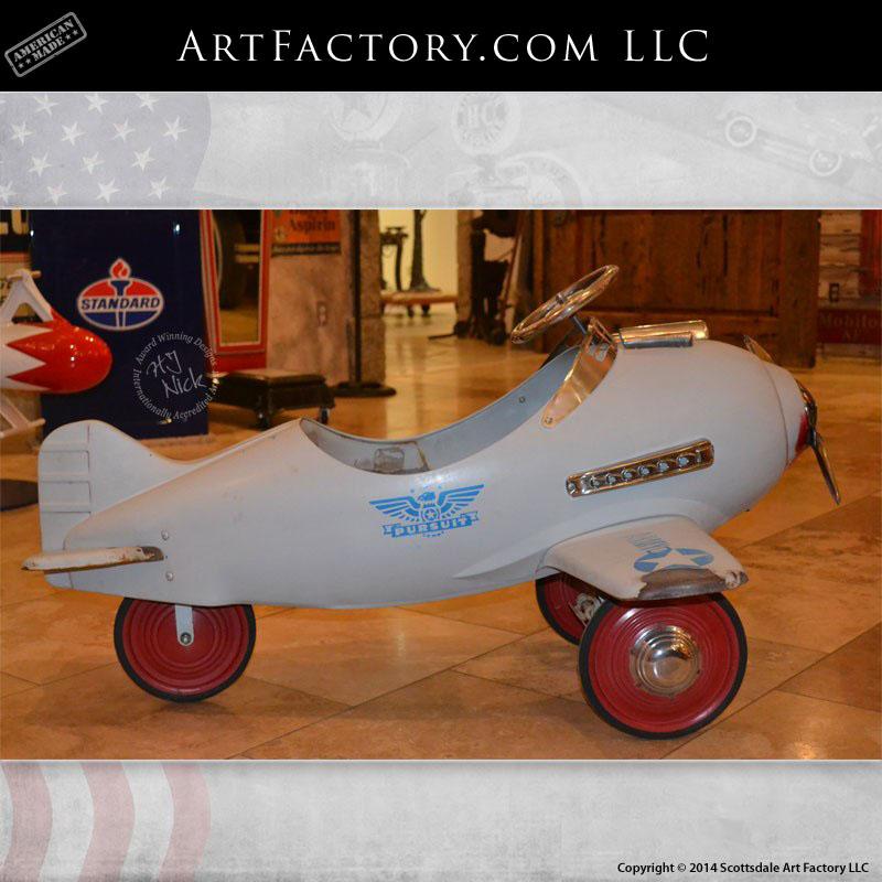 Murray Steelcraft Pursuit Pedal Plane Rare Original Pedal Car