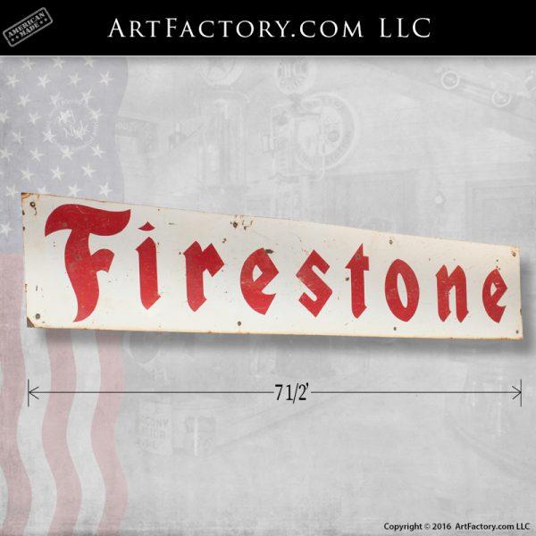 Vintage Firestone Sign