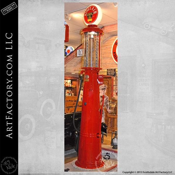 Gilbarco Sinclair visible gas pump