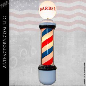 1930s Barber Pole Vintage Lighted Sign Fully Restored