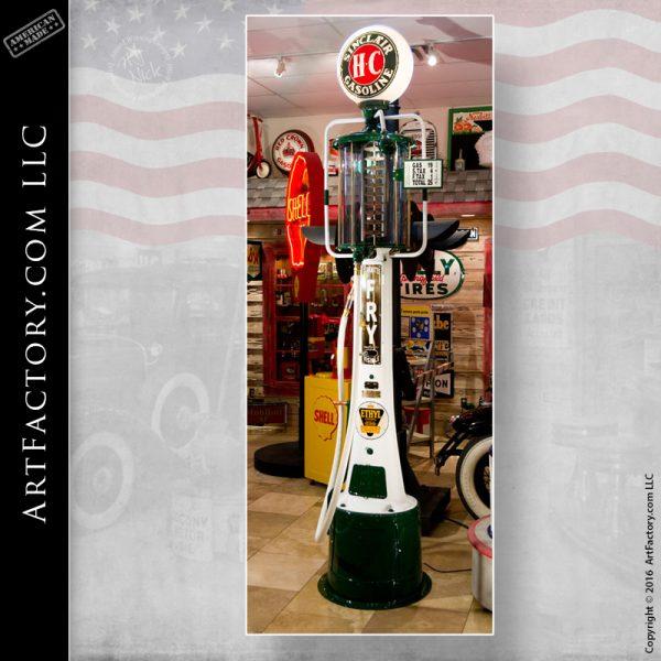 Sinclair fry gas pump
