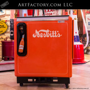 Vintage Nesbitt's Soda Machine 15 Cen Vendor