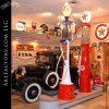 Fry vintage visible gas pump