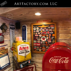 Retro Man Cave Collectables