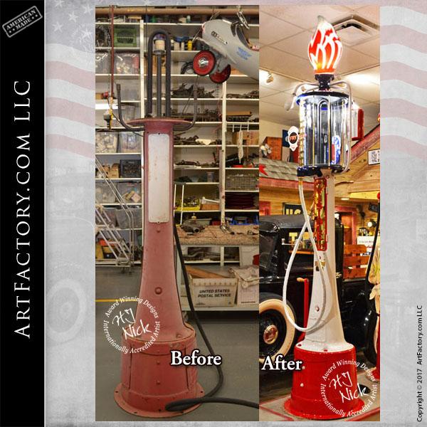 Vintage Restoration Antique Gas Pumps