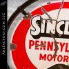 Sinclair Motor Oil Vintage Porcelain Sign