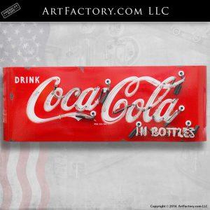 Drink Coca-Cola In Bottles Neon Sign