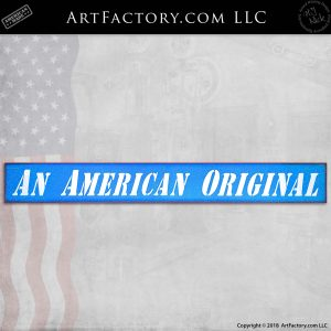 An American Original Lighted Sign: Vintage Collectible Advertising