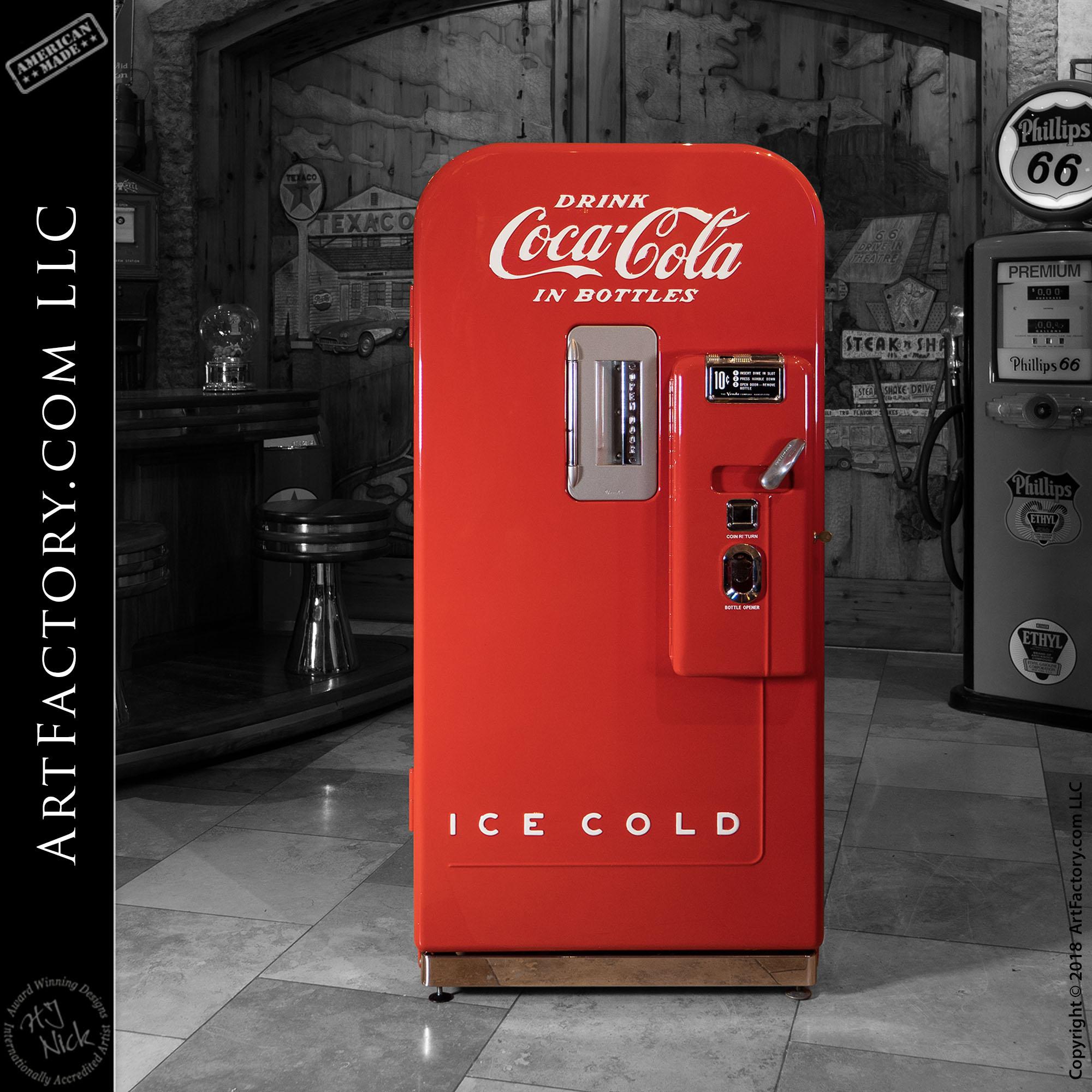 Vintage Vendo 39 Coca Cola Machine