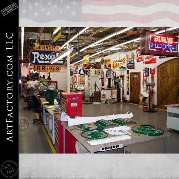 antique restorations shop