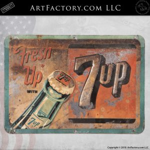Fresh Up With 7 Up Sign