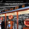 Phillips 66 Station Model Re-Creation