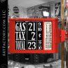 Tokheim 620 Visible Gas Pump: Original 1920's Mobil Globe And Signage - TGP0630