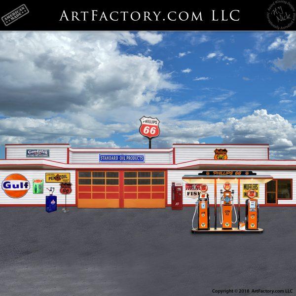 Gas Station Recreation
