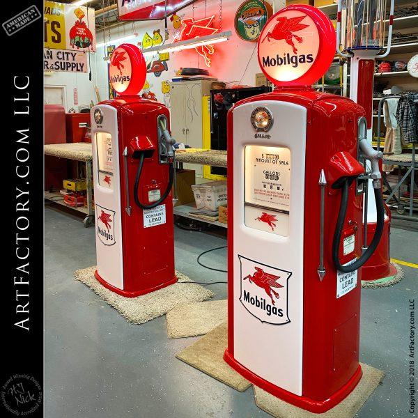 Pegasus Mobil Gas Pumps