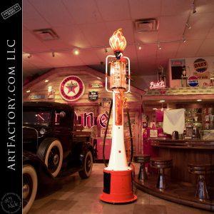 Mae West Vintage Gas Pump