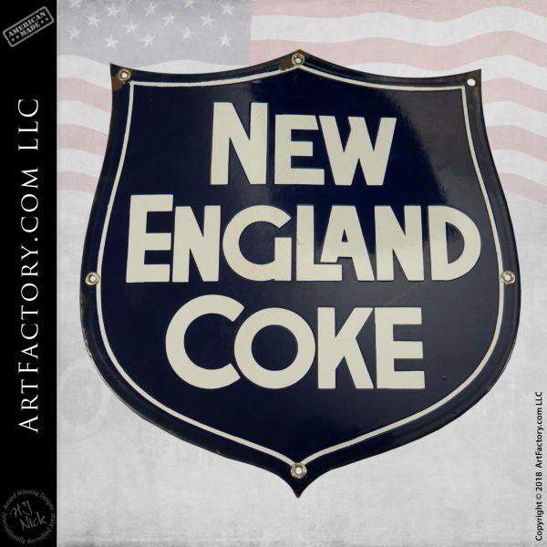 New England Coke Sign
