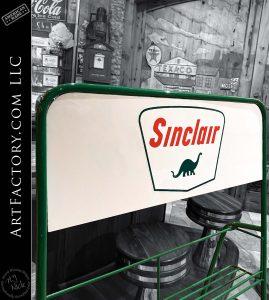 Vintage Sinclair Gasoline Oil Rack