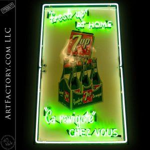 Large 7up Vintage Neon Sign
