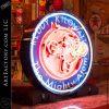 Vintage Neon Reddy Kilowatt Sign