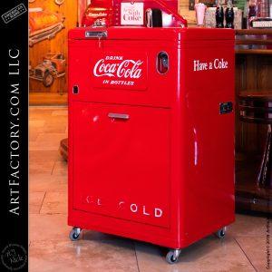 Vintage Vendo 23 Deluxe Coke Machine