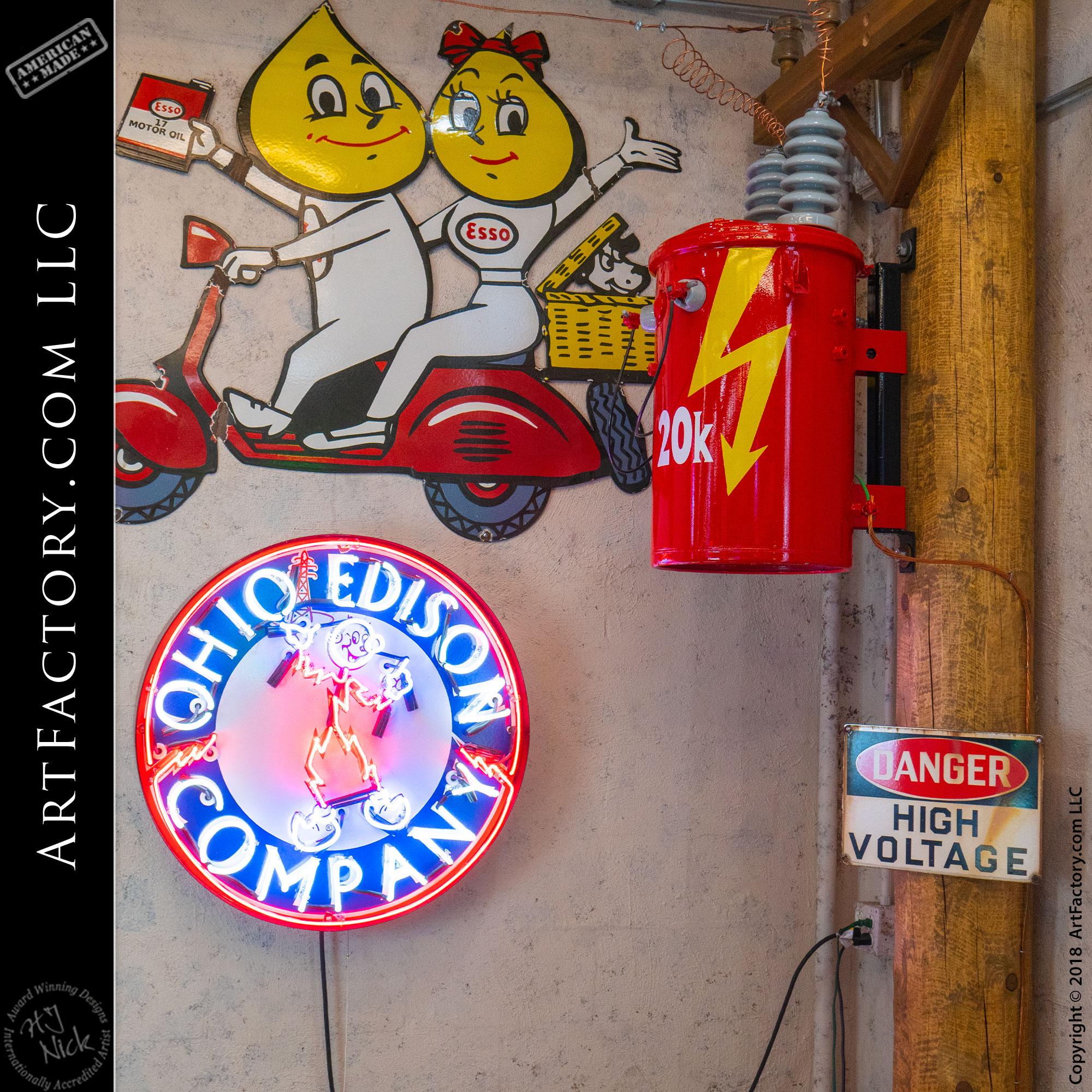Vintage Neon Reddy Sign