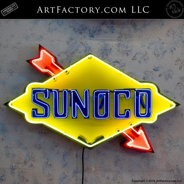 Vintage Sunoco Neon Sign