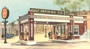 Gulf Oil - Old Service Station - SSD900