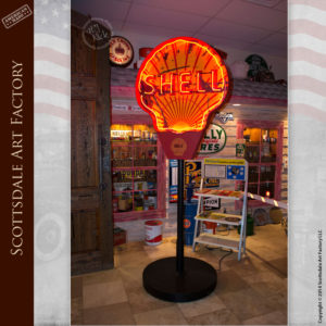 Shell Oil Neon Sign Vintage Advertisements - VS122